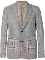 Alexander McQueen classic checked jacket