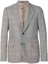 Alexander McQueen Prince of Wales patchwork jacket