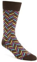 Bugatchi Herringbone Socks