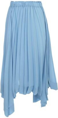 Issey Miyake Pleated Skirt A Line Elastic Waist