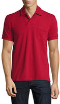 Tom Ford Short-Sleeve Polo Shirt, Red