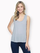 Splendid Light Jersey Box Pleat Tank