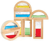 Guidecraft Shimmering Water Rainbow Blocks Set