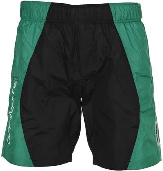 Off-White Colour Block Swim Short