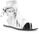 Isabel Marant Mosley Metallic Leather Sandal