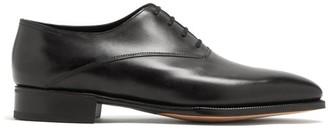 John Lobb Becketts Leather Oxford Shoes - Mens - Black