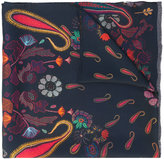 Paul Smith paisley silk scarf
