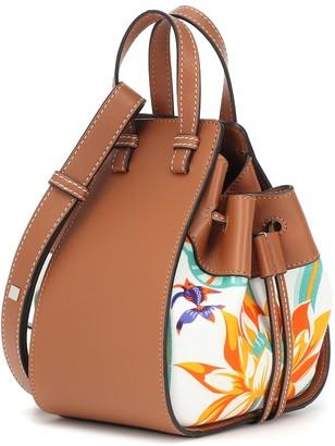 Loewe Paula's Ibiza Hammock Mini printed leather shoulder bag