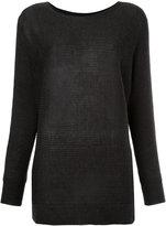 Roberto Collina boat neck sweater
