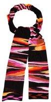 Missoni Multicolor Knit Scarf