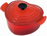 Le Creuset cocotte D'Amour (single) Cherry Red (Japan import / The package and the manual are written in Japanese)