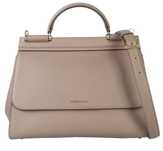 Dolce & Gabbana Sicily Top Handle Tote Bag