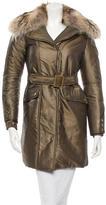 Gucci Fox-Trimmed Puffer Coat