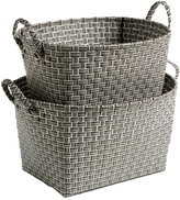 Oval Nested Woven Nylon Bins
