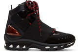 Givenchy Black Hiker High-Top Sneakers