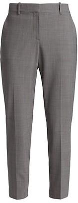 Theory Treeca 2 Geo Classic Cropped Trousers