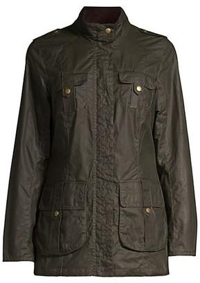 Barbour Defense Lightweight Wax Jacket