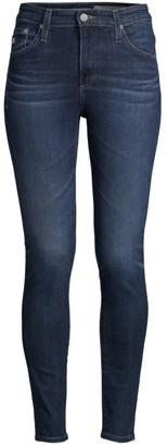 AG Jeans Farrah Mid-Rise Stretch Skinny Ankle-Length Jeans