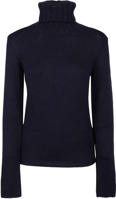 Zanone Turtleneck Ribbed Sweater