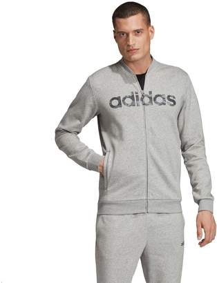 adidas Men's Essential Camo Linear Bomber Jacket