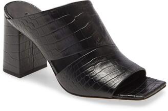 Vince Nelda Square Toe Slide Sandal