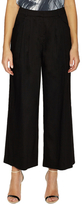 Lafayette 148 New York Linen Double Pleat Wide Leg Pant