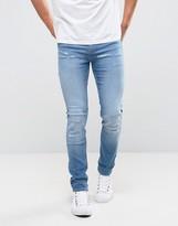Cheap Monday Tight Skinny Jeans Break Blue