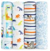Aden Disney by Aden + Anais aden® Disney by aden + anais® 4-Pack Jungle Book Muslin Swaddle Blankets