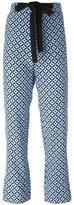 Marni Tracery print trousers