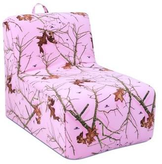 Kangaroo Trading Company Tween Lounger w/handle - Mossy Oak Lifestyle Pink