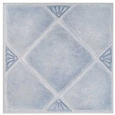 Dynamix Home 7984 Madison Vinyl Tile, 12 by 12-Inch, Blue, Box of 9