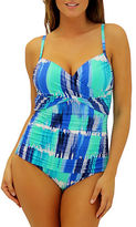 Fit 4 U Graphic-Print One-Piece Swimsuit