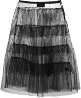 Simone Rocha flared midi skirt