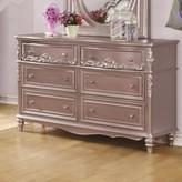 Whitney 6 Drawer Double Dresser Viv + Rae