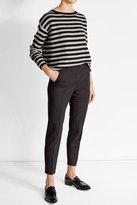 Max Mara Striped Cashmere Pullover