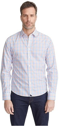 UNTUCKit Carillon - Wrinkle Free (Blue) Men's Clothing