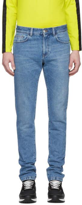 Versus Blue Skinny Jeans