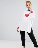 Lazy Oaf X Hello Kitty Long Sleeve T-Shirt