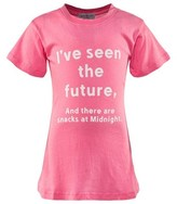 Wildfox Couture Pink Future Slogan Tee