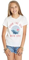 Billabong Girl's From The Sea Graphic Tee