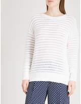 MICHAEL Michael Kors Open-knit cotton-blend jumper