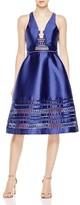 Three floor Horizon Lace Trim Dress