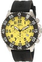 Invicta Men's Pro Diver/Specialty Chronograph Dial Black Polyurethane