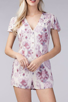 Honey Punch Button Romper