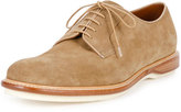 Bally Steve Suede Derby Shoe, Tan
