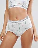 Wildfox Couture Wildflower Boy Short
