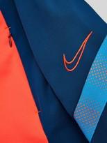 Nike Junior Academy Overhead Hoodie - Blue