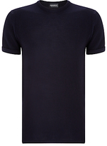 John Smedley Unisex Singular Textured Top, Midnight