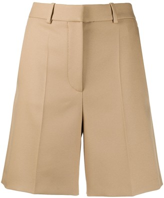 Stella McCartney High-Waisted Mid-Length Shorts