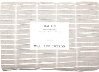 Wallace Cotton Raffles Duvet Set Double